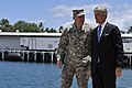 Secretary of the Army John McHugh tours Army logistic support vessel Lt. Gen. William B. Bunker 130716-A-PJ759-012.jpg