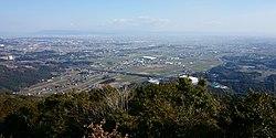 Sefuri Mountains and Tsukushi Plain from Mount Kawarake.jpg
