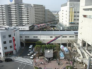 Seiseki-sakuragaoka Station Railway station in Tama, Tokyo, Japan