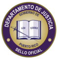 Sello del Departamento de Justicia Puerto Rico.png