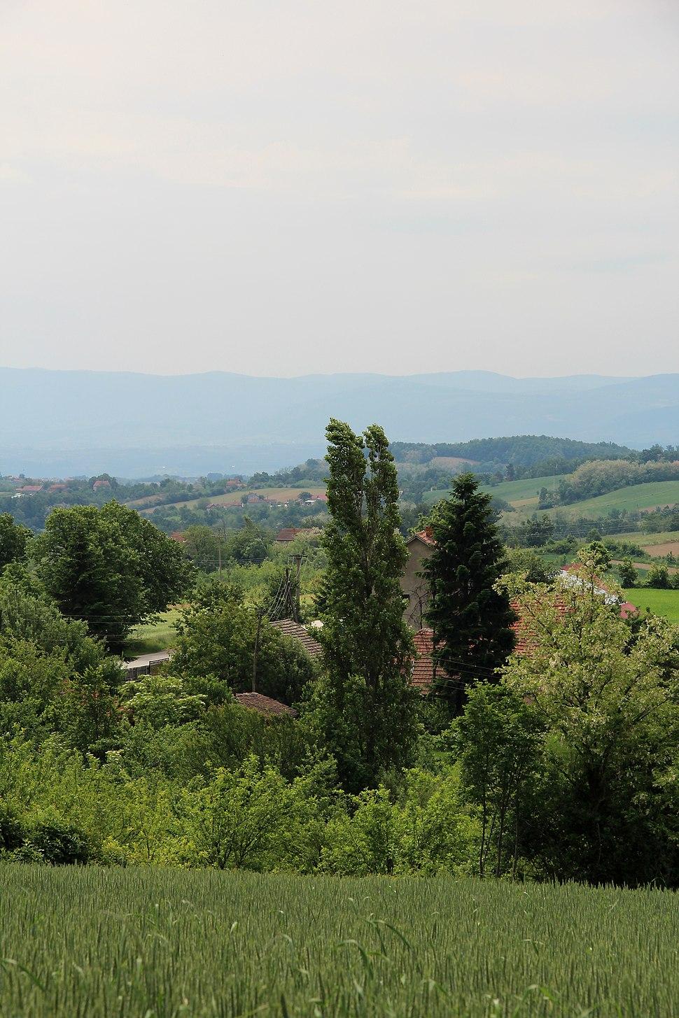 Selo Rabas - opština Valjevo - zapadna Srbija - Panorama 12