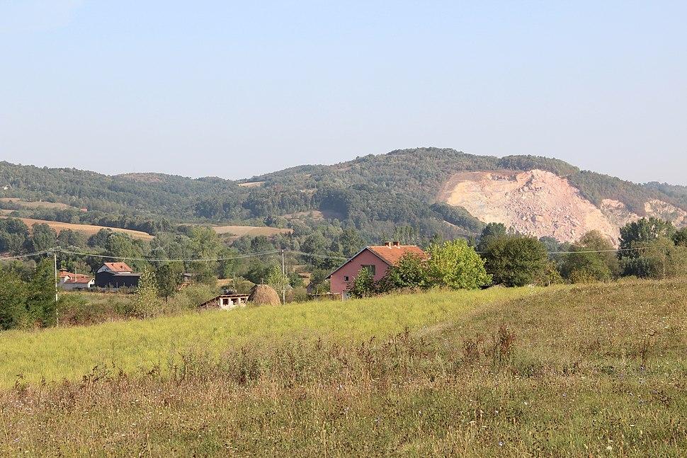 Selo Veselinovac - opština Valjevo - zapadna Srbija - panorama 14