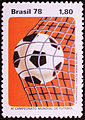 Selo da Copa de 1978 Bola na Rede.jpg