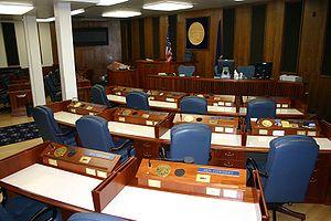 Alaska Senate - Image: Senate Chamber, Alaska