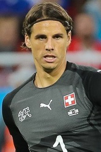 Yann Sommer - Sommer with Switzerland at the 2018 FIFA World Cup
