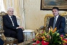 e69f3856f3f056 Президент Італії Серджо Матарелла та Прем'єр-міністр Італії Джузеппе Конте