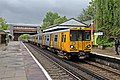 Service to Liverpool, Bromborough Railway Station (geograph 2986482).jpg