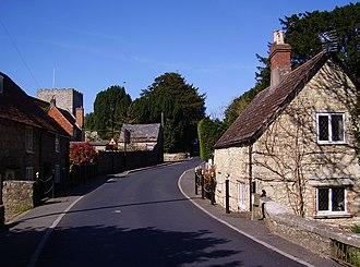 Shalfleet - Image: Shalfleet, IW, UK
