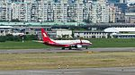 Shanghai Airlines Boeing 737-89P (WL) B-6107 Taking off from Taipei Songshan Airport 20160924b.jpg