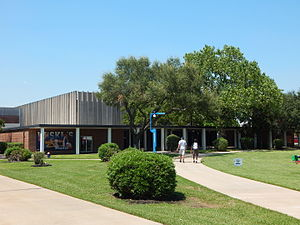 Sharp Gymnasium - Image: Sharp Gymnasium, Houston Baptist University