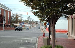 Shelbyville, Tennessee - Downtown Shelbyville