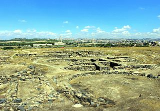 Archaeological site in present-day Yerevan, Armenia