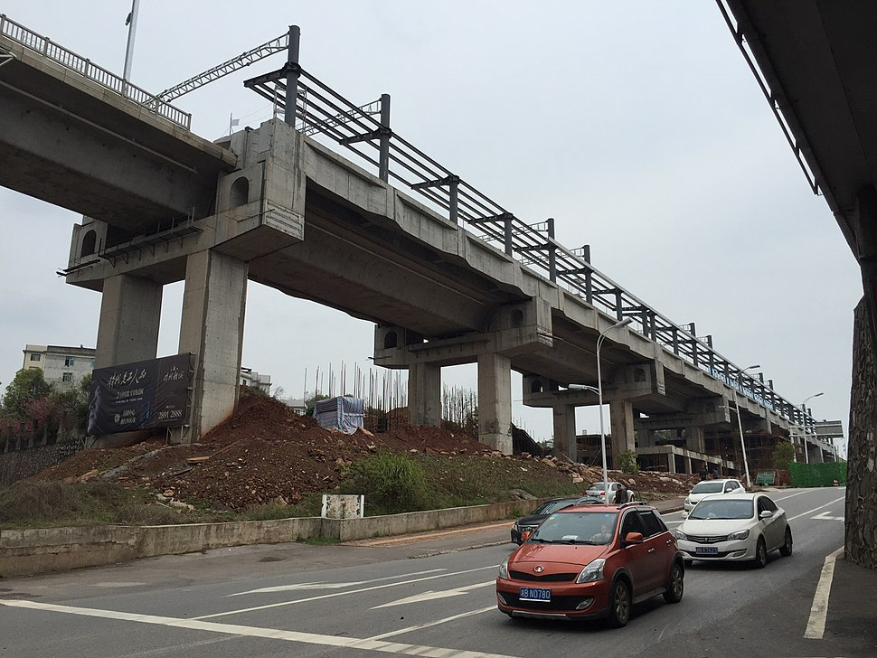 Shidai (Tianxindong) Railway Station under construction (20160324124744)