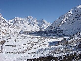 Shimshal - Shimshal in Winter