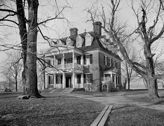 Shirley Plantation - The Shirley Plantation, c. 1900-1906. Photo by William Henry Jackson.