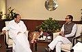 Shivraj Singh Chouhan calling on the Union Minister for Urban Development, Housing and Urban Poverty Alleviation and Parliamentary Affairs, Shri M. Venkaiah Naidu, in New Delhi on July 07, 2014.jpg