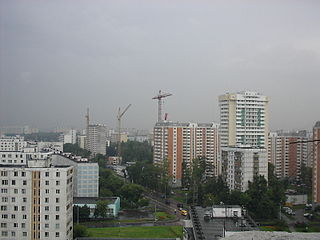 District in Federal city of Moscow, Russia