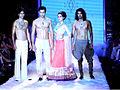Shraddha Kapoor walks the ramp for Anmol Jewellers at IIJW 2011 (3).jpg