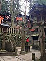 Shrines in Mount Inariyama of Fushimi Inari Grand Shrine.jpg