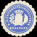 Siegelmarke Königlich Bayerische Universitätsbibliothek - Erlangen W0226185.jpg