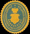 Siegelmarke N.Ö. Landes-Zwangs-Arbeits- und Besserungs-Anstalt Korneuburg W0358574.jpg