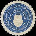 Siegelmarke Stadtvorstand Greußen in Thüringen W0380312.jpg