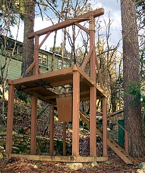National Register of Historic Places listings in Sierra County, California - Image: Sierra County Gallows