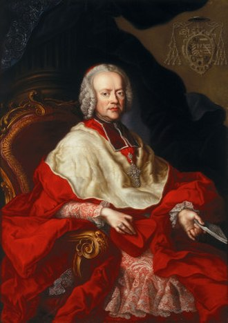 Mozart's nationality - Sigismund von Schrattenbach was the ruling archbishop at Salzburg when Mozart was born and during his youth. He was a generous patron of the Mozart family.