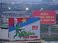 Sign commemorating 75 years of Vietnamese independence.jpg