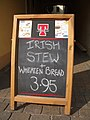 Sign outside a pub, Omagh - geograph.org.uk - 377783.jpg