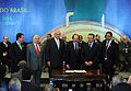 Signing of provisional measures for 2014 FIFA World Cup & 2016 Summer Olympics 2010-07-19 7.jpg