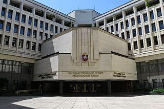the legislative branch of the Republic of Crimea