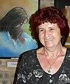 Simon M. Veronika egyik alkotásának részletével 2006.jpg