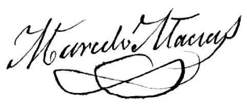 Sinatura de Marcelo Macías