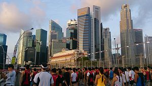 Central Area, Singapore - Image: Singapore Financial District