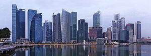 Singapore Skyline at Dawn (8037966047).jpg