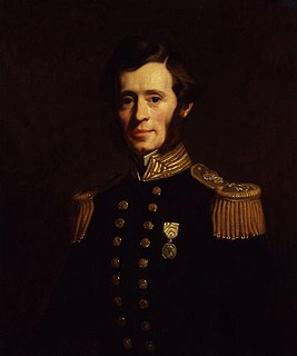 Irish explorer in the British Royal Navy