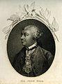 Sir John Hill. Stipple engraving after F. Cotes 1757. Wellcome V0002768.jpg