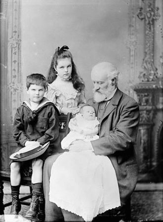 Sandford Fleming - Fleming with his grandchildren in 1893