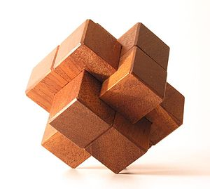 Mechanical puzzle - Chinese wood knot