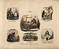 Six vignettes illustrating phrenological propensities; hope, Wellcome V0011114.jpg