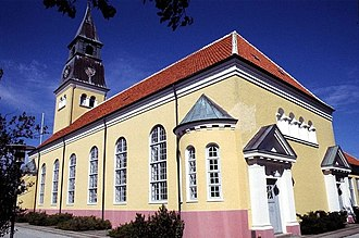 Ulrik Plesner - Skagen Church renovated by Ulrik Plesner in 1910