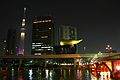 Skytree & Asahi Breweries Building, from Azumabashi, Asakusa 2012.JPG