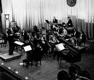 Edgard Varèse - Nicolas Slonimsky conducting Ionisation in Havana