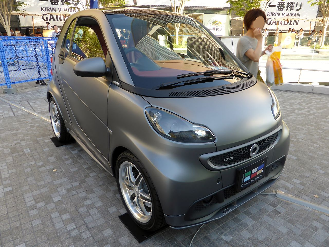file smart fortwo coup brabus xclusive edition tailor made front jpg wikimedia commons. Black Bedroom Furniture Sets. Home Design Ideas