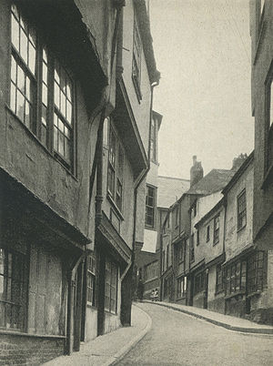 Dartmouth, Devon - Smith Street circa 1930