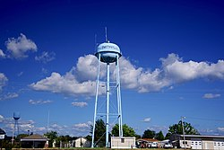 Water tower in Smithville