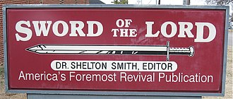 The Sword of the Lord - Image: So TL Sign