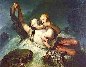 Francisco Augusto Metrass - God Alone! (1856)