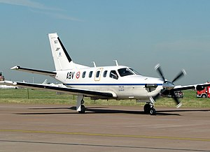 Metz-Frescaty Air Base - Socata TBM 700 high performance single engine turboprop utility aircraft